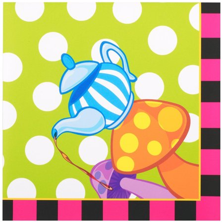 Topsy Turvy Tea Party Lunch Napkins ()