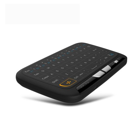 2.4Ghz Mini Wireless Keyboard Backlit Full Screen Mouse Touchpad Combo for PC,Android Tv
