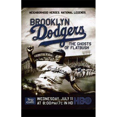 Posterazzi MOV402058 Brooklyn Dodgers the Ghosts of Flatbush Movie Poster - 11 x 17 in. 1951 Brooklyn Dodgers