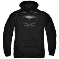 Hoodie Batman Vs. Superman Movie Logo Pullover Hoodie Size M