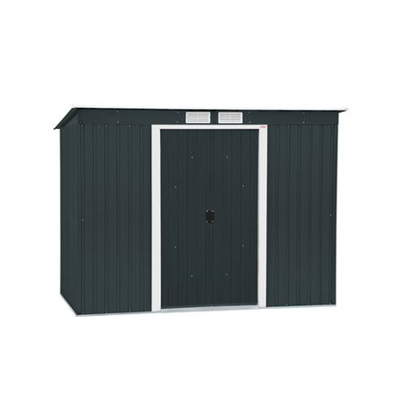 Metal Duramax Shed (Duramax Building Products 8 x 4 ft. Metal Pent Roof Storage)