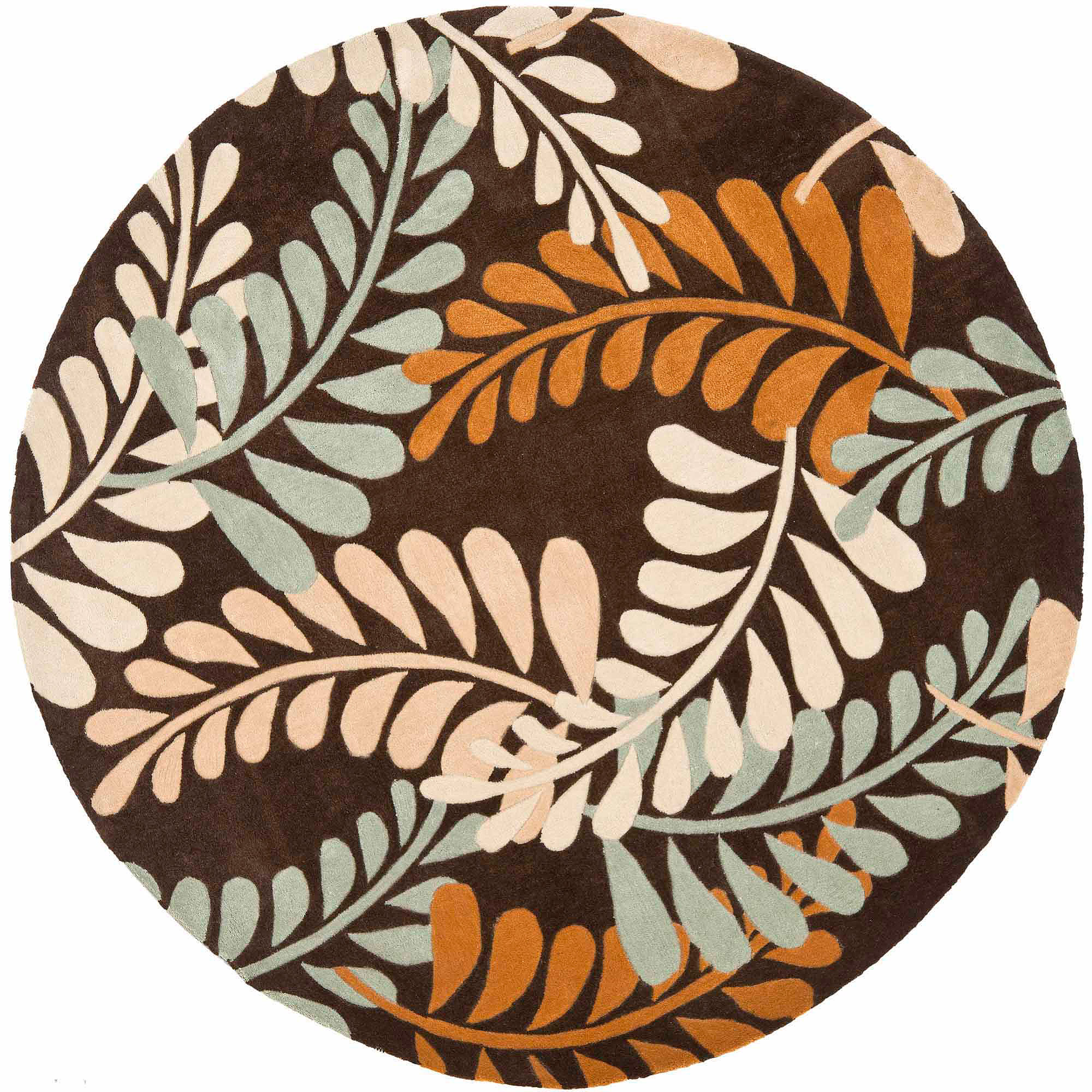 Safavieh Modern Art Iquera Hand-Tufted Area Rug, Brown/Multi