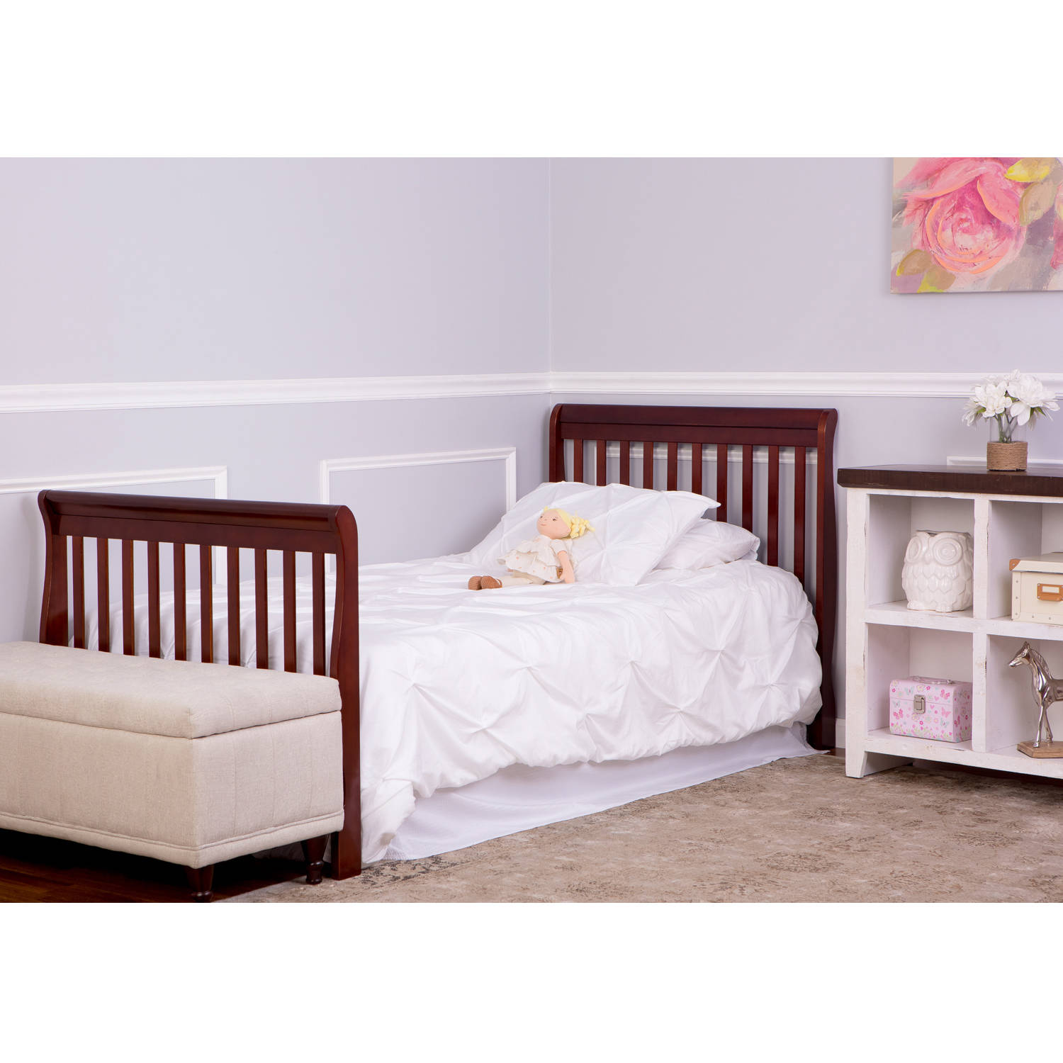 Pali crib for sale used - Dream On Me Aden 4in1 Fixedside Convertible Mini Crib