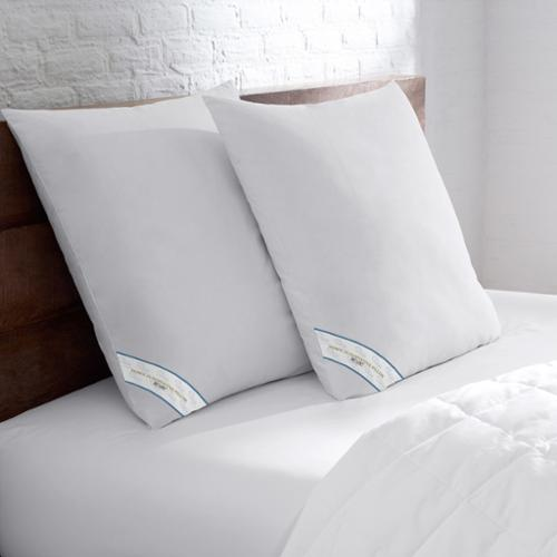 bed bath n more Sweet Home Collection Down Alternative 26 x 26 European Square Pillow (Set of 2)