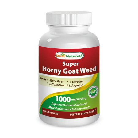 Best Naturals Horny Goat Weed with maca 60 (Best Rolling Papers Weed)