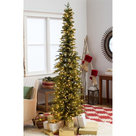 Bixley Pencil Pre-lit Christmas Tree - Walmart.com