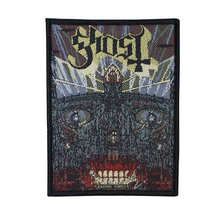 Ghost B.C. Meliora Patch Album Art Heavy Metal Jacket Woven Sew On Applique