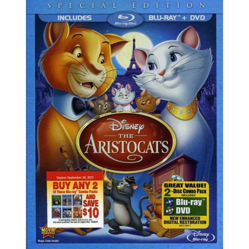 The Aristocats (Special Edition) (Blu-ray   DVD) (Widescreen)