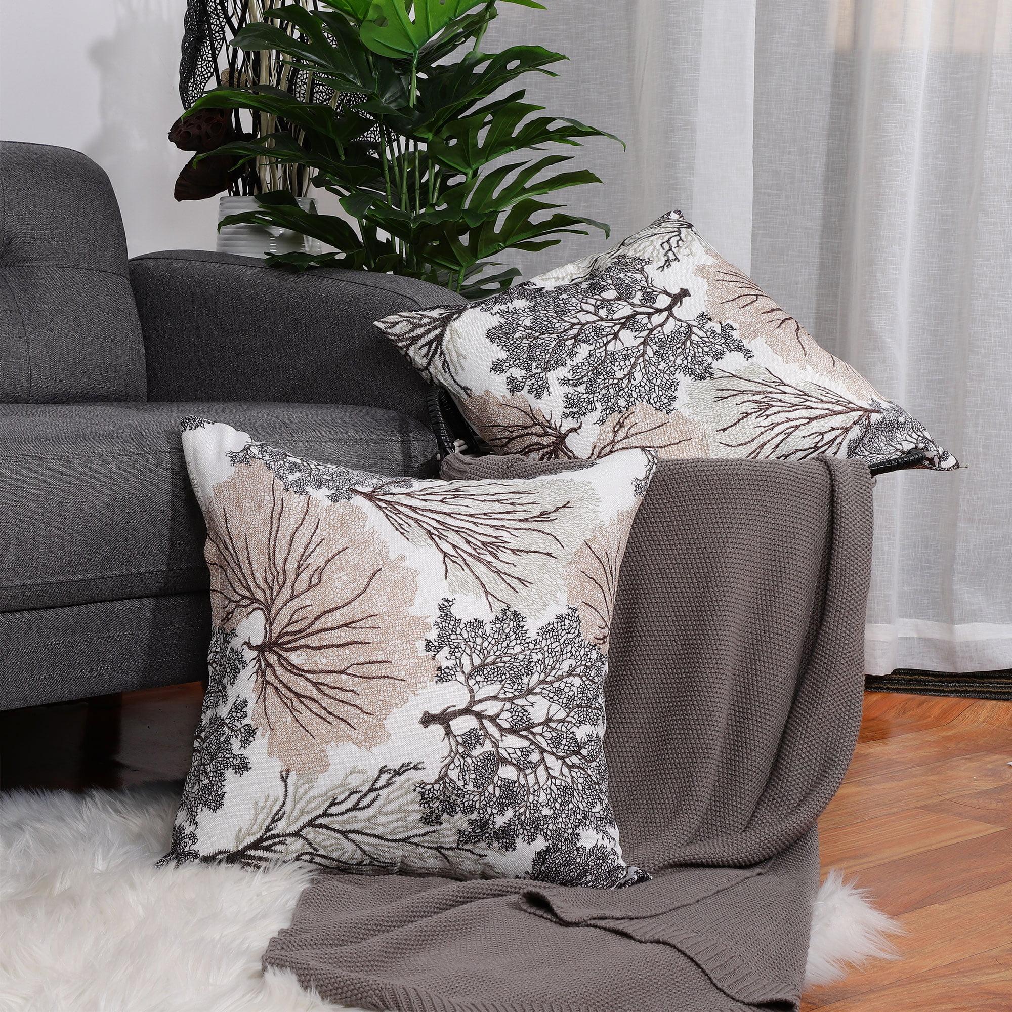 45*45cm Blue Geometric Sofa Cushion Cover Throw Pillow Case Home Decor Square