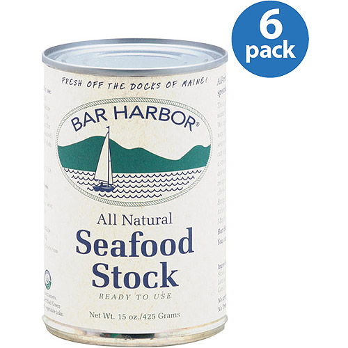Bar Harbor Seafood Stock, 15 oz, (Pack of 6)