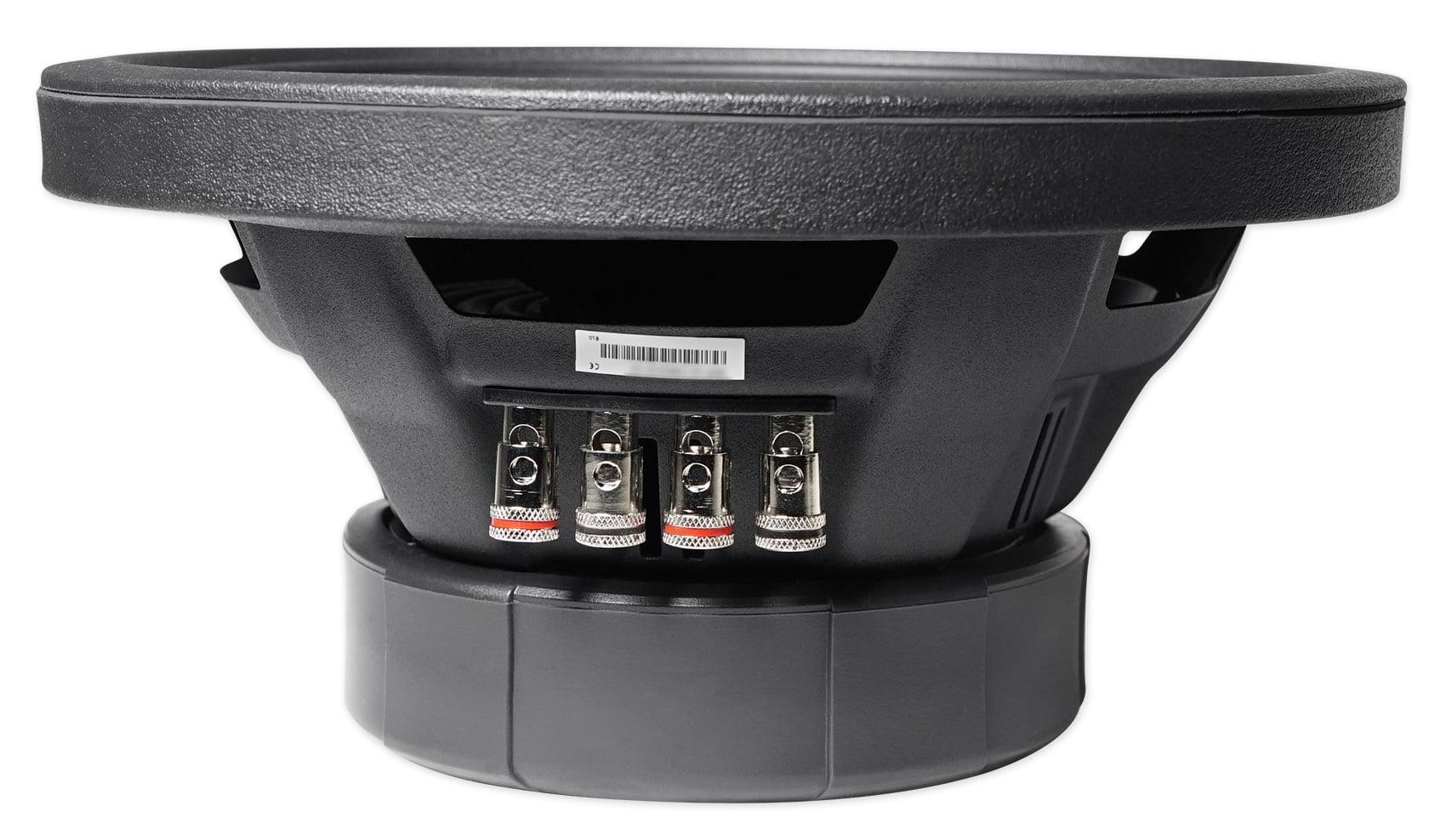 Alpine S-W10D4 10 3600 Watt Dual 4-Ohm Car Audio Subwoofers DVC Subs SW10D4 2