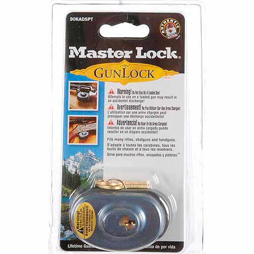 Master Lock Gun Locks, No. 90KADSPT