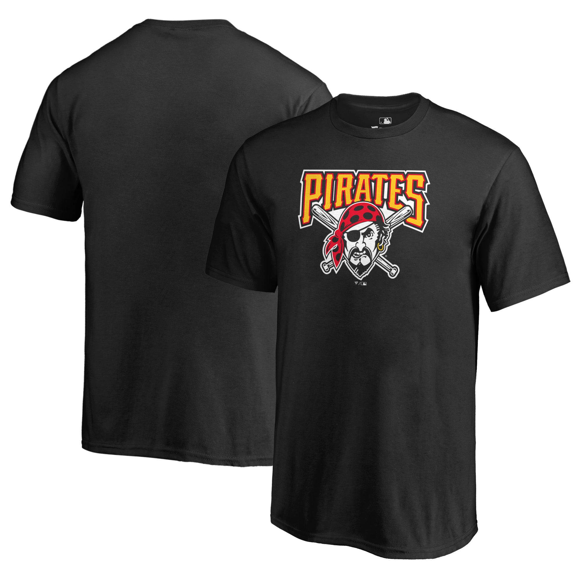 Pittsburgh Pirates Fanatics Branded Youth Cooperstown Collection Huntington T-Shirt - Black