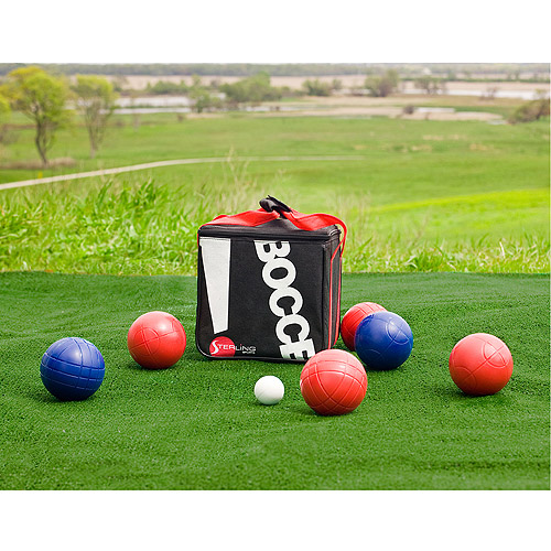 Sterling Sports 90mm Plastic Bocce Ball Set