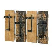 Wall Mounted Wine Rack, Rustic Rustic Wall Mounted Wine Rack Wood