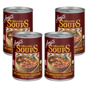 (4 Pack) Amy's Organic Fire Roasted Southwestern Vegetable Soup, 14.3 oz