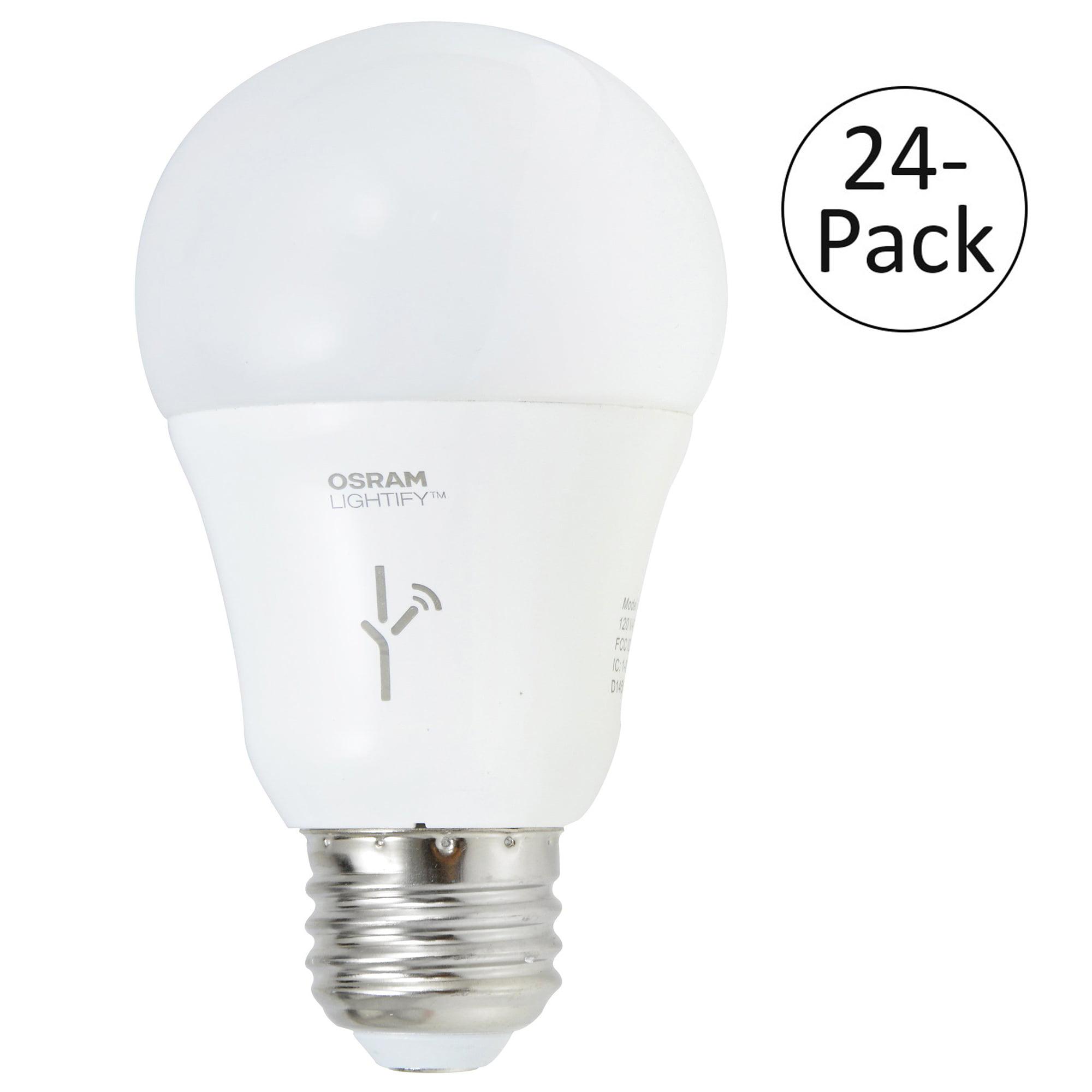 Sylvania Lightify 60-Watt A19 Tunable White Smart Home LE...