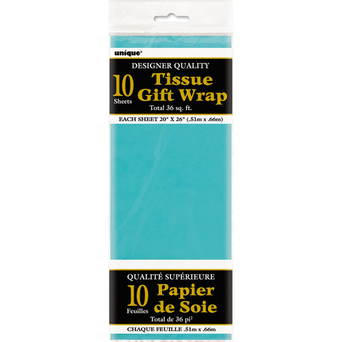 Teal Tissue Paper Sheets, 10ct