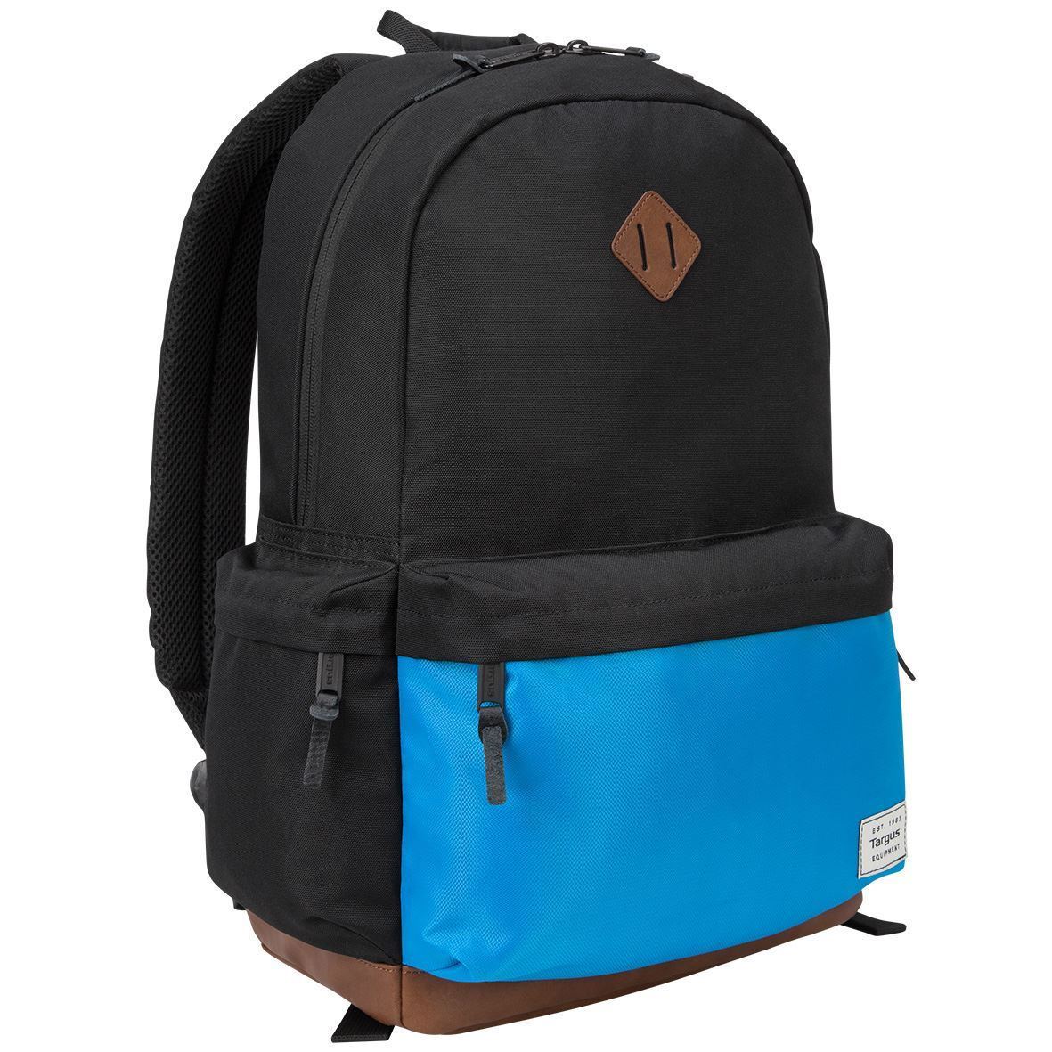 "Targus 15.6"" Strata II Backpack, Black/Blue"