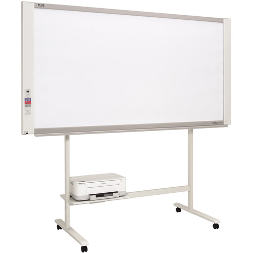"Plus M-18W Interactive Magnetic Whiteboard, Electronic Copyboard, 78"" x 40"""