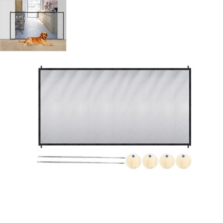 ety Magic Gate Guard Mesh Fence Net for Pets Puppy Cat (Electronic Fence Cats)