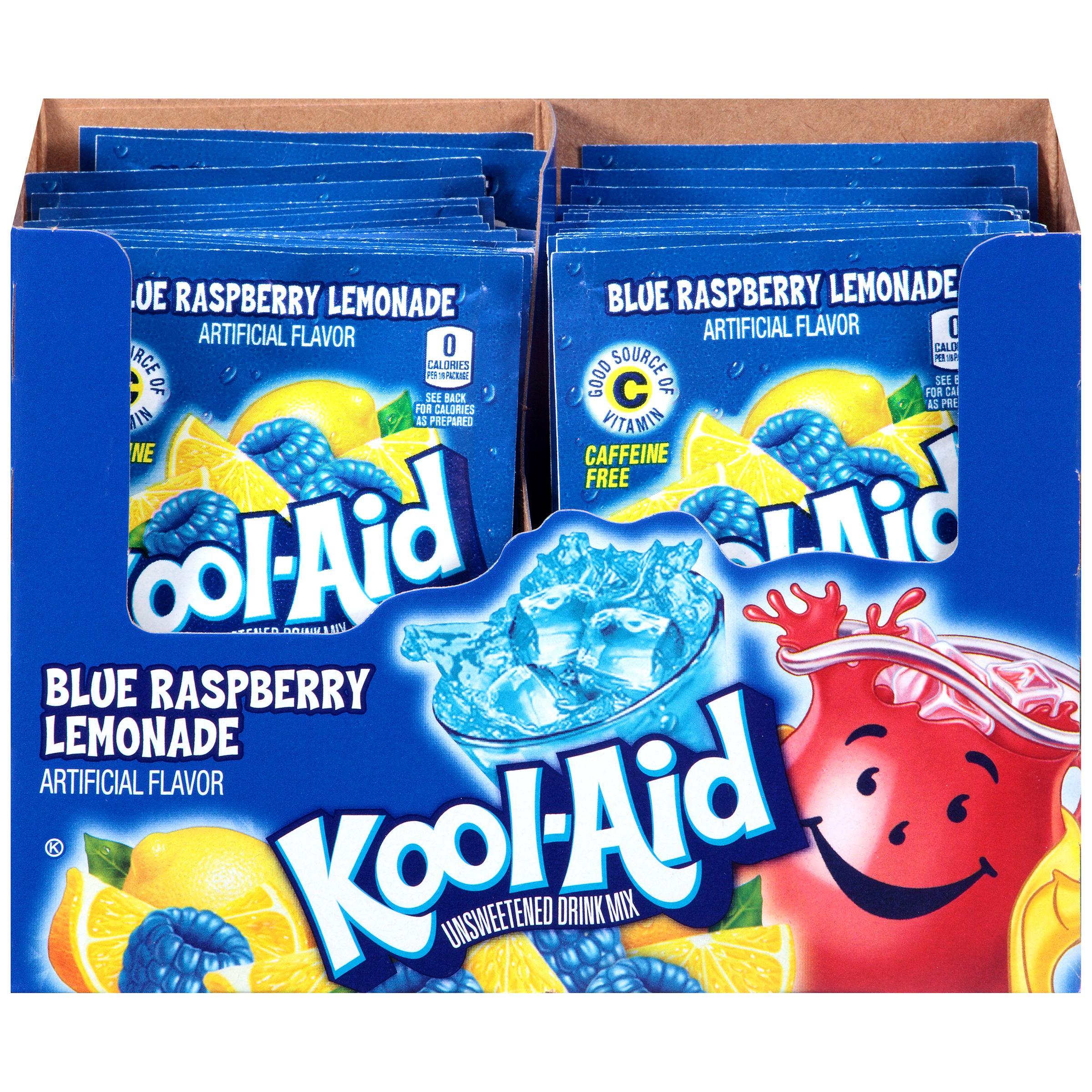 Kool-Aid Drink Mix, Raspberry Lemonade, .22 Oz, 1 Count - Walmart.com