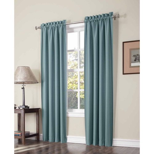 Sun Zero Graham Thermal Lined Room Darkening Curtain Panel
