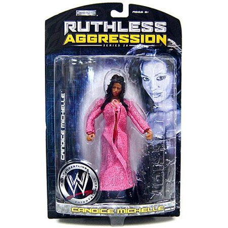 WWE Wrestling Ruthless Aggression Series 26 Candice Michelle Action Figure (Aggression Figure)