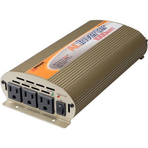 Wagan Slim Line 1,000/2,500W Power Inverter