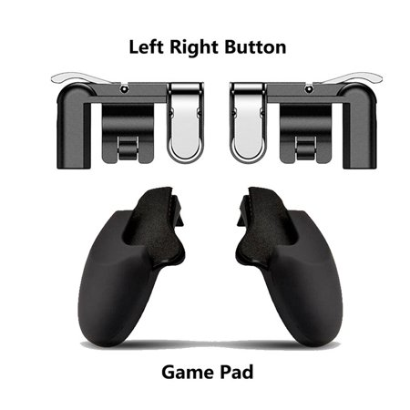 Mobile Game Fire Button Aim Key Gaming Trigger L1R1 Shooter Controller for PUBG - image 2 de 8