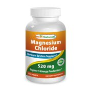 Best Naturals Magnesium Chloride 520 mg 120 Tablets