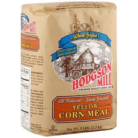 Hodgson Mill Stone Ground Yellow Corn Meal, 5 lbs. (Pack of -