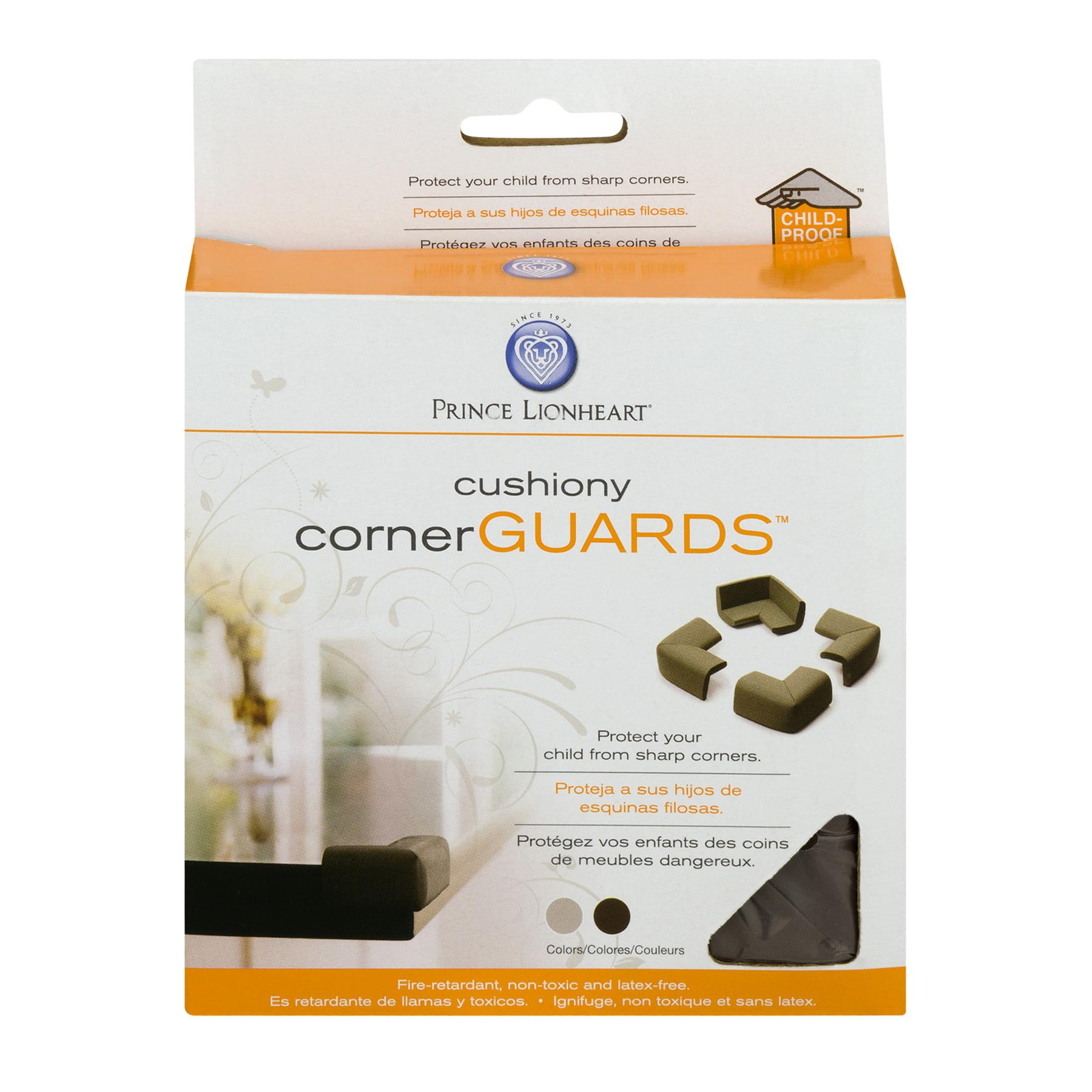 Prince Lionheart Cushiony Corner Guards, 4.0 PACK