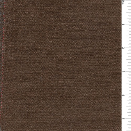 Brown Keslo Textured Chenille Upholstery Fabric, Fabric Sold By the Yard
