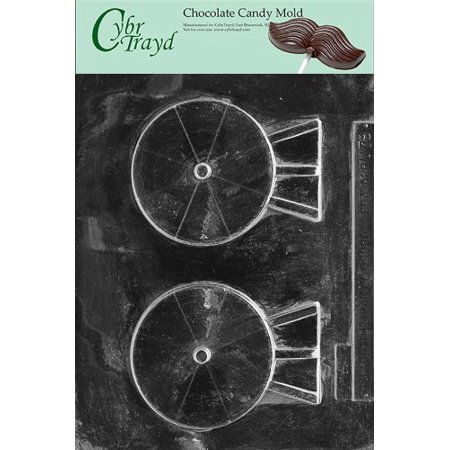 (Cybrtrayd M078 Satellite Dish Miscellaneous Chocolate Candy Mold)