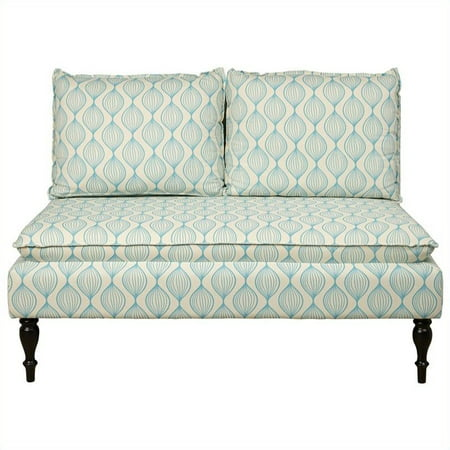 Banquette, Upholstered Pattern Blue ()