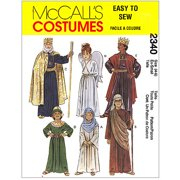 Mccall's Pattern Christmas Costumes, (s)