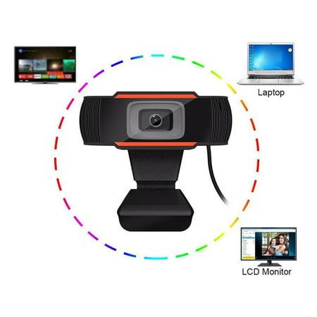 Webcam 720P Full Hd Web Camera Streaming Video Live Broadcast Camera - image 2 of 4