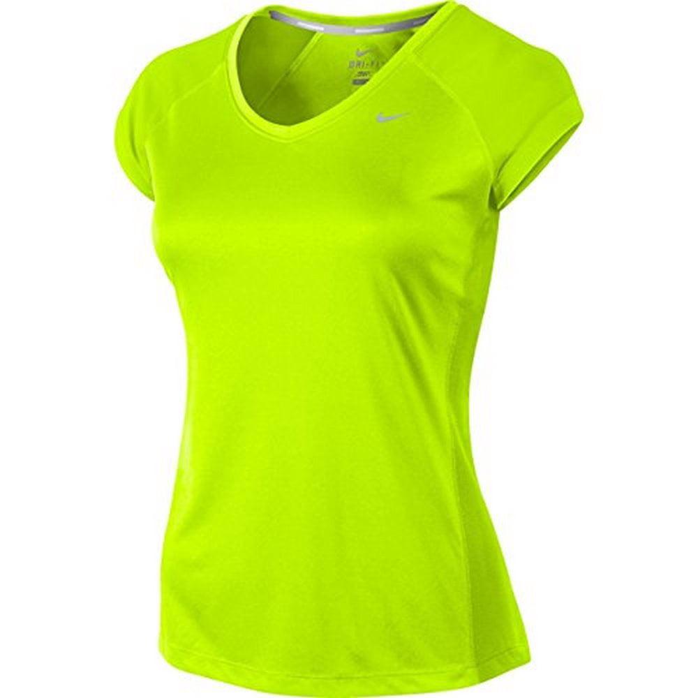 Women's Nike Miler V-Neck Short-sleeve Running Shirt (Sma...