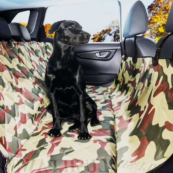 Plush Paws Products Pet Car Seat Cover Regular - Military...