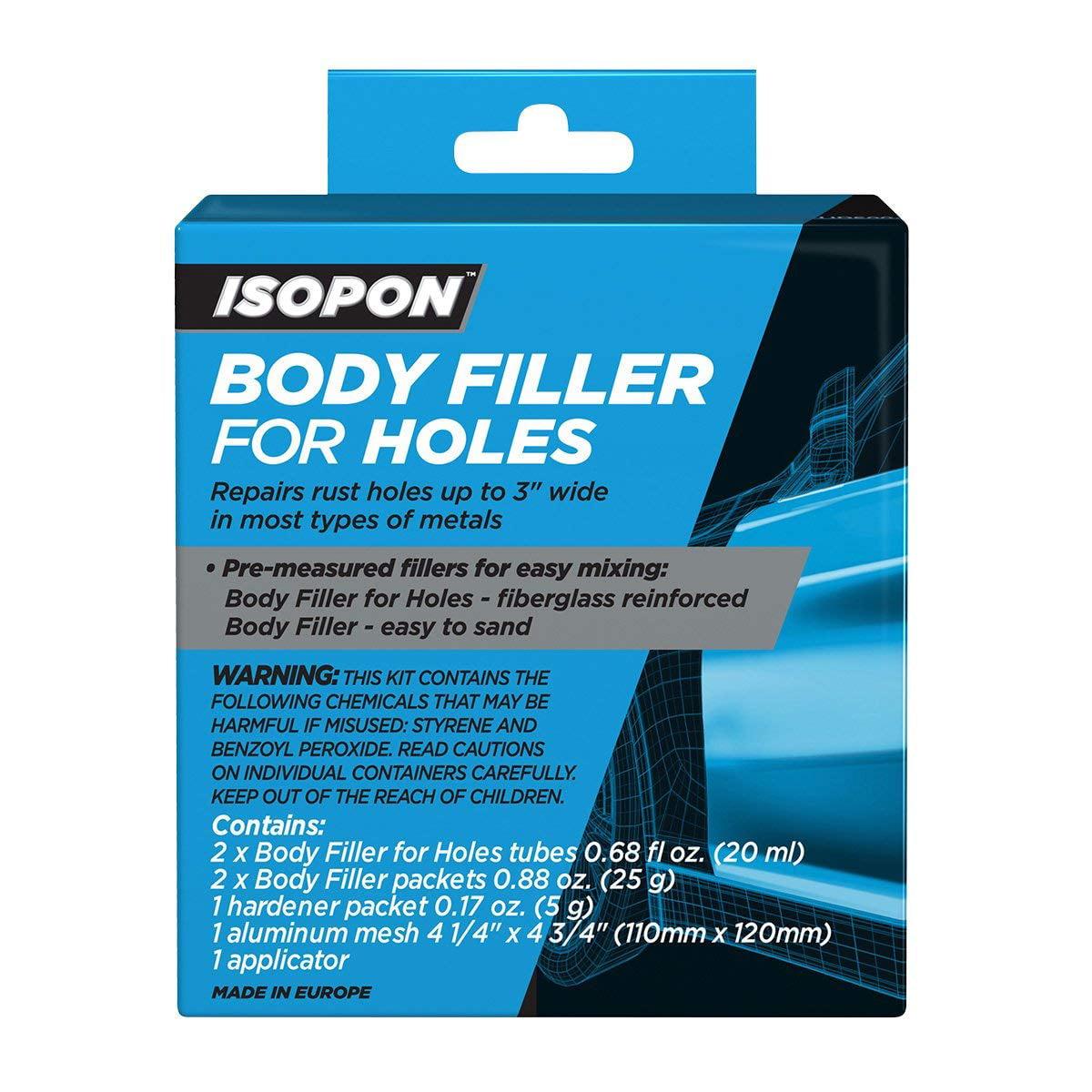 U-POL 5004 Isopon Filler for Holes Box