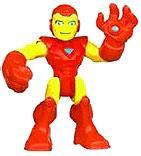 Marvel Playskool Heroes Super Hero Adventures Iron Man Mini Figure [Bagged] by Hasbro
