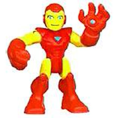Marvel Playskool Heroes Super Hero Adventures Iron Man Mini Figure - Male Superhero