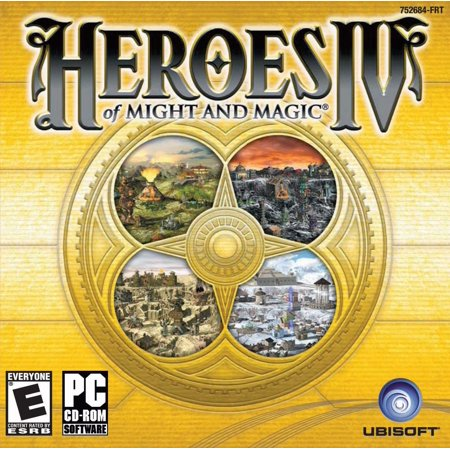 Heroes of Might and Magic IV 4 PC CD Game - A new world (Heroes Of Might And Magic 4 Patch)