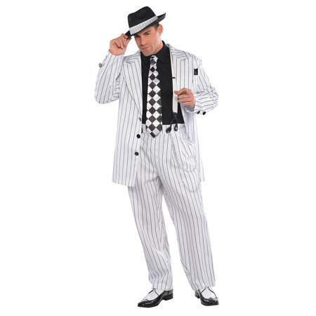 Pinstripe Daddy Adult Costume - Standard - Sugar Daddy Costume