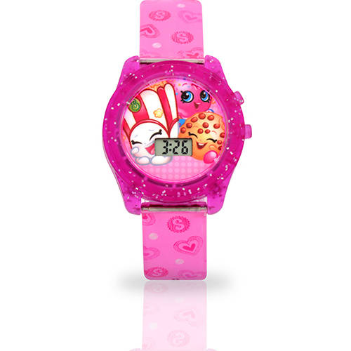 Shopkins Rotating Flash Dial Watch