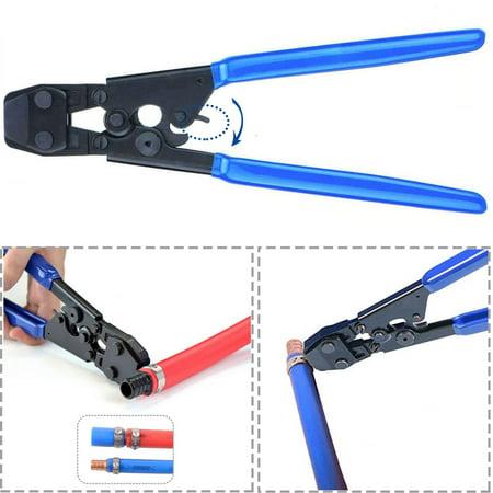 Crimp Clamp (Zimtown PEX Cinch Clamp Tool, PEX Ratcheting Cinch Crimping Tool Crimper, w/20pcs 1/2