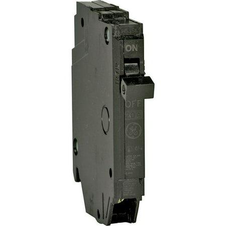 GE THQP150 Type THQP Q-Line Standard Circuit Breaker, 120/240 VAC, 50 A, 1 P, 10 kA