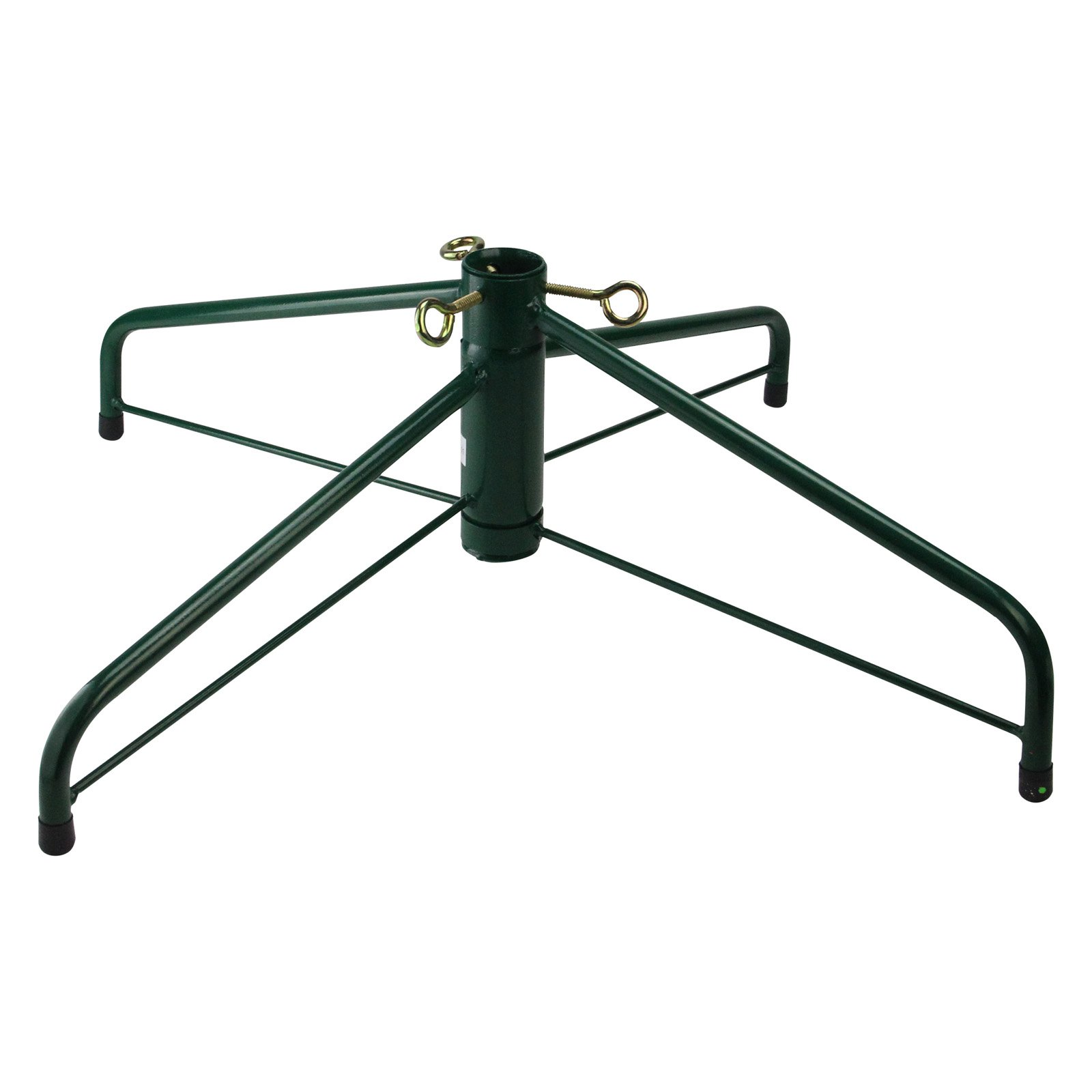 Jack-Post Ideal Brand Folding Christmas Tree Stand - For Artificial Trees Up To 8 ft. Tall