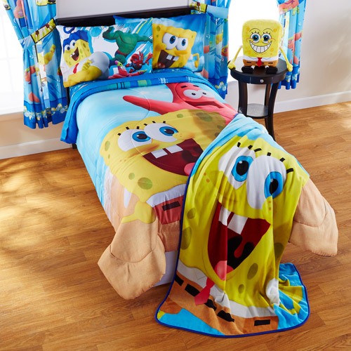 SpongeBob Movie 'Mr. Awesome' Twin/Full Bedding Comforter